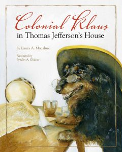 Colonial Klaus in Thomas Jefferson's House