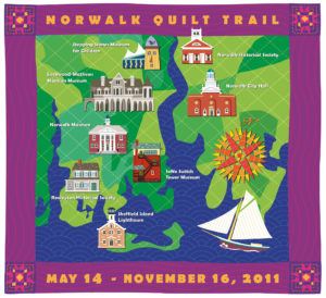 Norwalk Quilt Trail Map